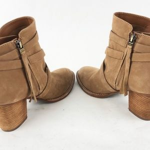 Sam Edelman Shoes - Sam Edelman Merton 8.5M/38.5 Tan Suede Ankle Boots